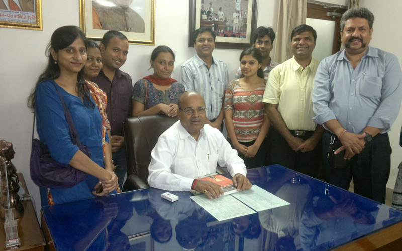 NAD Team met Shri Thaawar Chand Gehlot, Hon'ble Minister for Social Justice & Empowerment