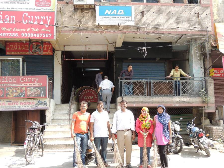 NAD Team Organised the Swachh Bharat Abhiyan
