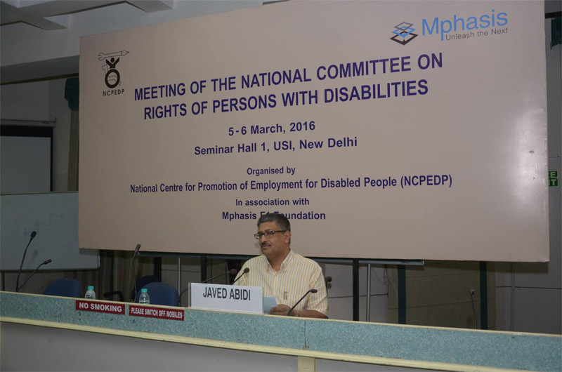 Meeting of the National Committee on Rights of Persons with Disabilities