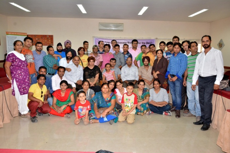 Workshop on the Advocacy Training for the Deaf