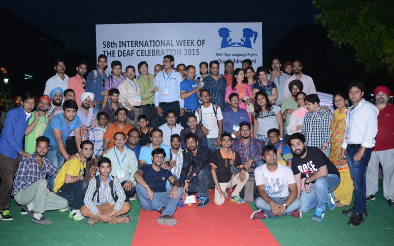 58th International Week of The Deaf Celebration 2015