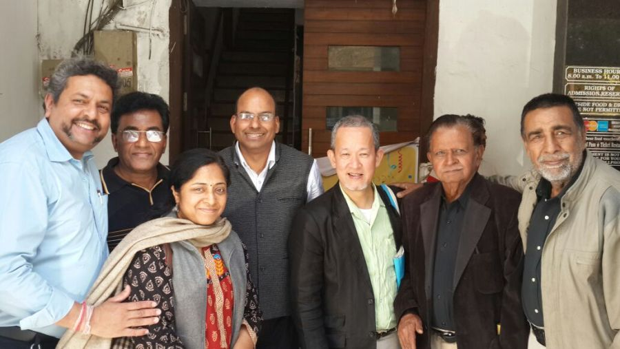 World Federation of the Deaf Regional South Asia met NAD & AIFD Teams