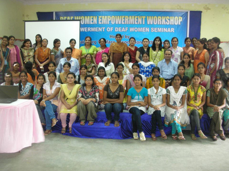STATE LEVEL WORKSHOP ON EMPOWERMENT OF DEAF WOMEN