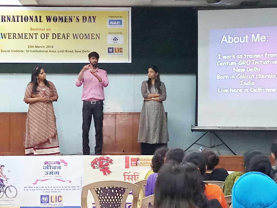 Deaf Women Rights and Empowerment - National Association of
